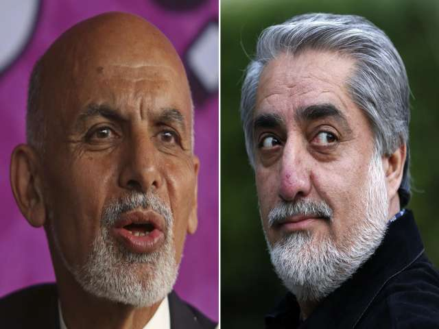 Afghan rivals said close to ending feud on how to share power