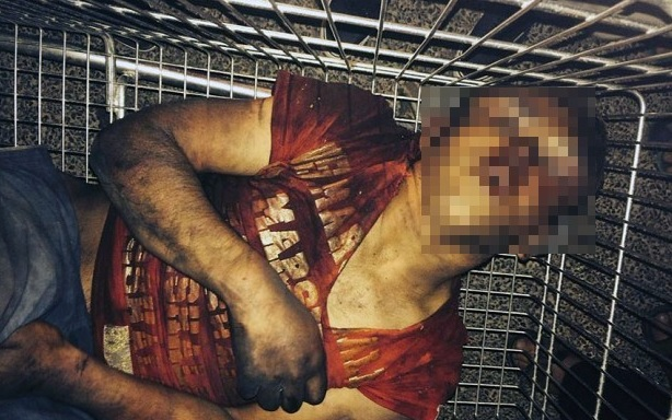 Graphic image of Roma boy lynched in France shocks world