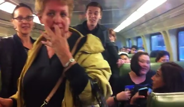 VIDEO: Australian police launch probe after racist rant filmed on train