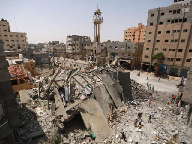 Gaza faces daunting reconstruction after heavy bombings