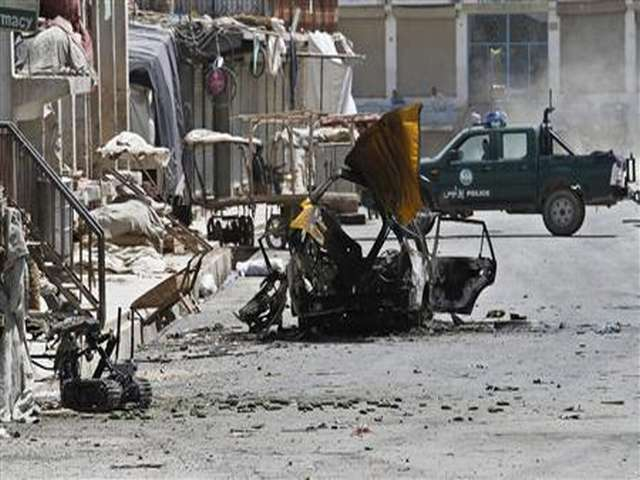 Car bomber kills 11 police, soldiers in Afghanistan