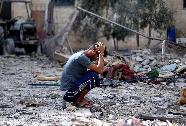 Israeli PM orders ground offensive in Gaza -UPDATED