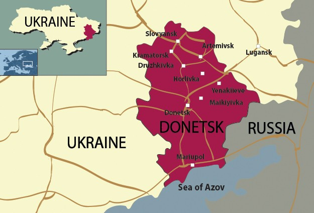 Ukraine: 35 killed in eastern region clashes