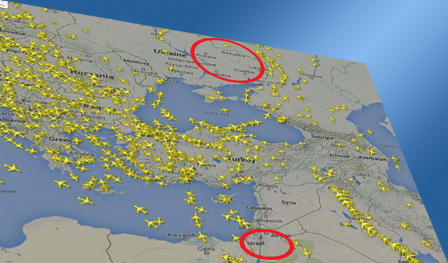 Turkey deals with increased air traffic due to regional wars