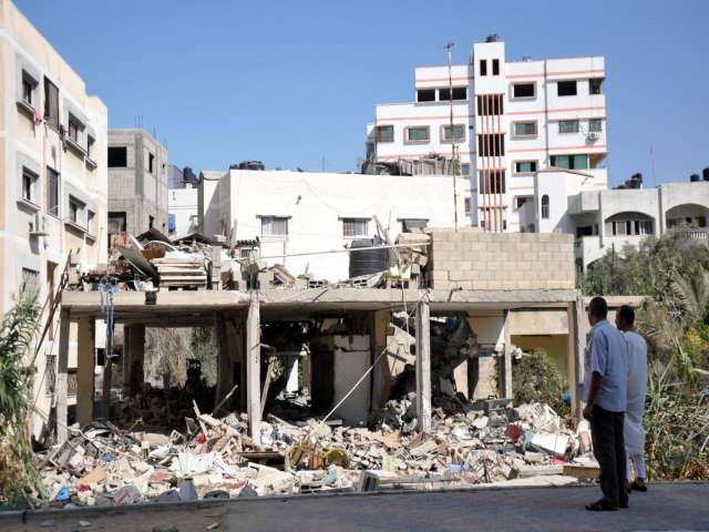 Egypt calls for Gaza ceasefire to begin Tuesday -UPDATED