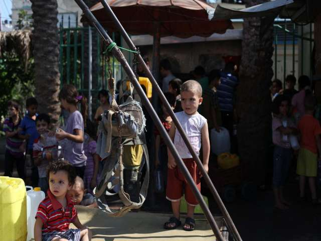 In Gaza, feast brings no joy to children