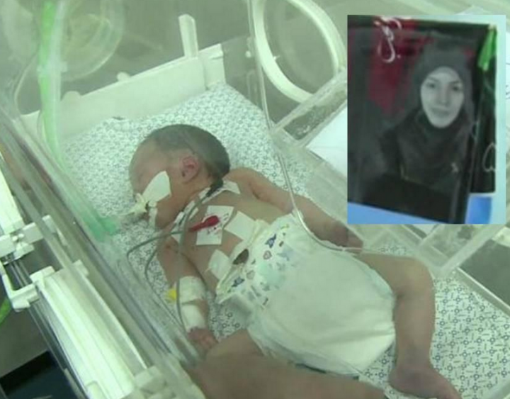 Baby saved from slain Gaza mother's womb dies