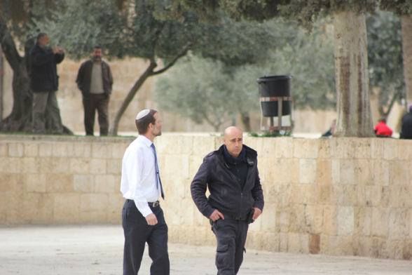 Israeli MP slams security chief for Al-Aqsa comments