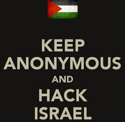 Anonymous cyber-attacks bring down Israeli websites
