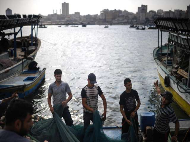 Gaza sends 1st fish shipment to W. Bank since 2007