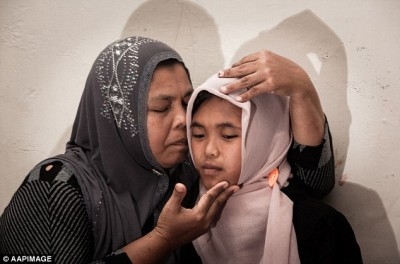 Indonesian family reunited with girl ten years after tsunami