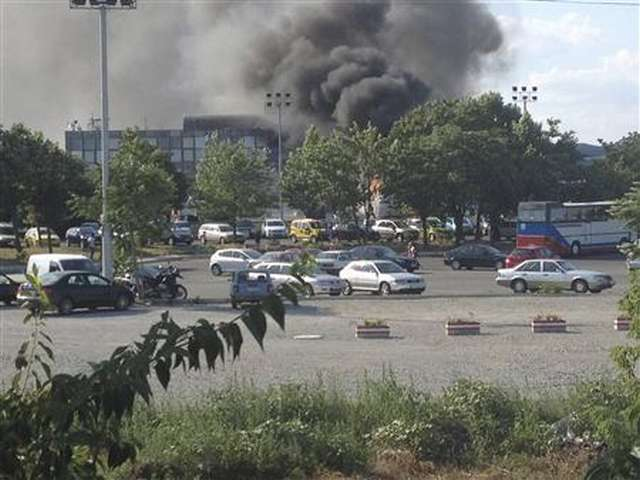 Accident at Bulgarian military plant causes explosion, 10 injured