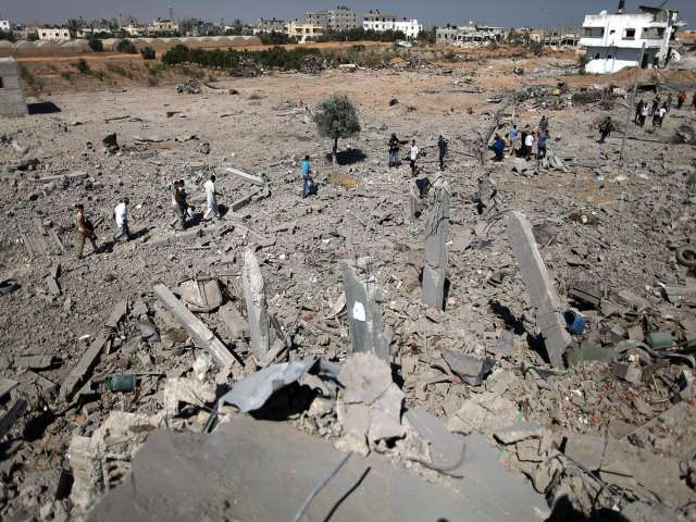 Bombed three times, 85-year-old Palestinian is refugee again