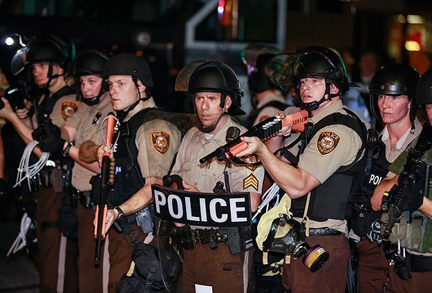 Tense scenes in Missouri after police shoot another black teen