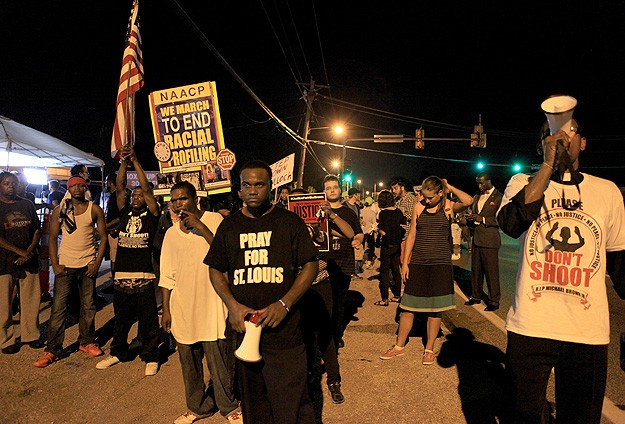 Demonstrations resume in Missouri over shooting death of black teen