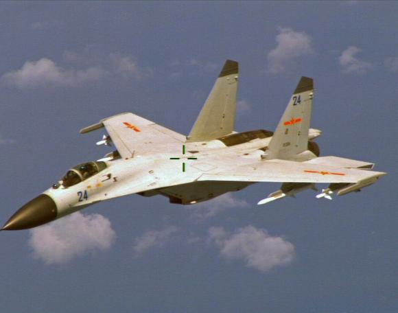 U.S., China security leaders trade barbs over jet manoeuvres