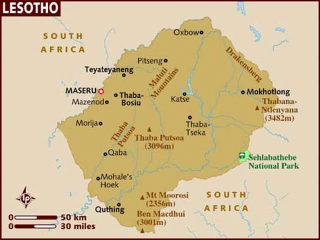 Lesotho PM says army staged coup, flees to South Africa