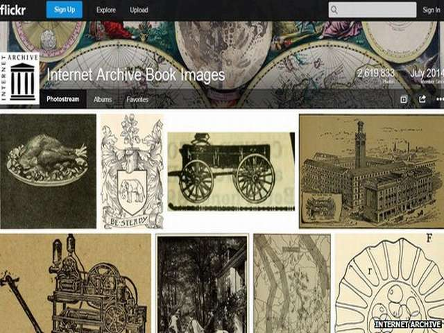 Millions of historic photos, drawings posted on Flickr