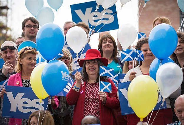 A majority of Scots would vote for independence now - poll