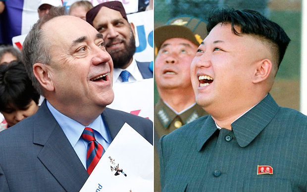 N. Korea eyes potential ally in independent Scotland