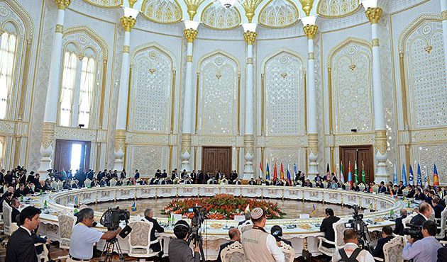 Shanghai Cooperation Org. meeting started in Kazkhstan