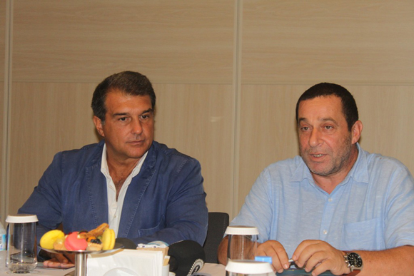 North Cyprus, Catalonia seek recognition through football