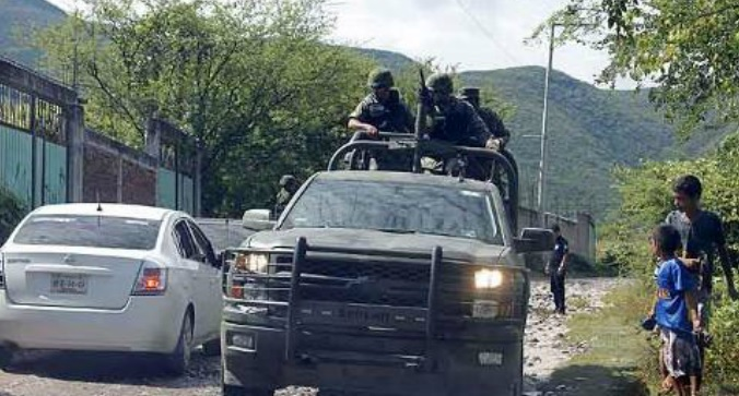Unrest flares again in Mexico's restive Michoacan state