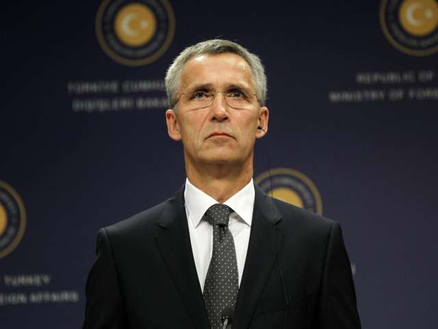 NATO says not discussing no-fly zone, safe zone in Syria