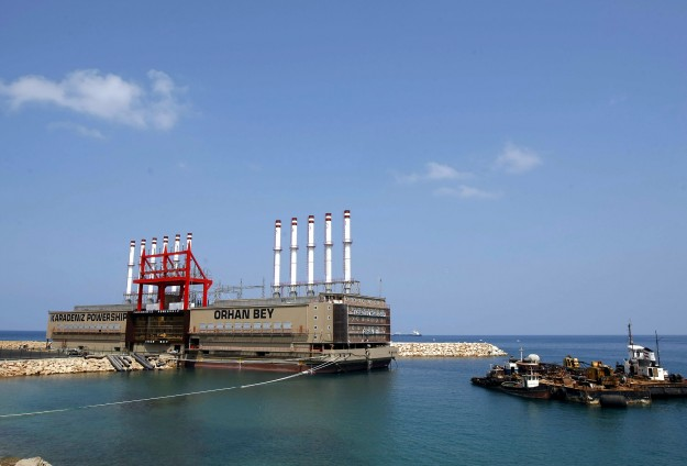 Turkish power ships to generate 21% of Ghana's electricity