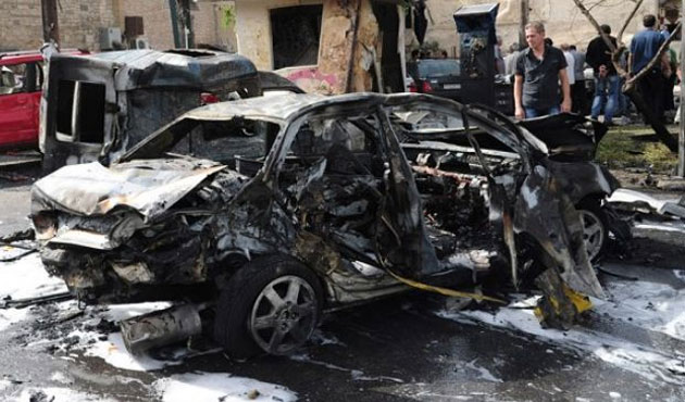 Car bomb wounds 37 in Syria's Homs