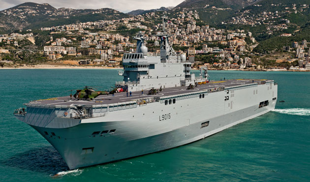 Russia wants $1.3bn from France for ending Mistral deal