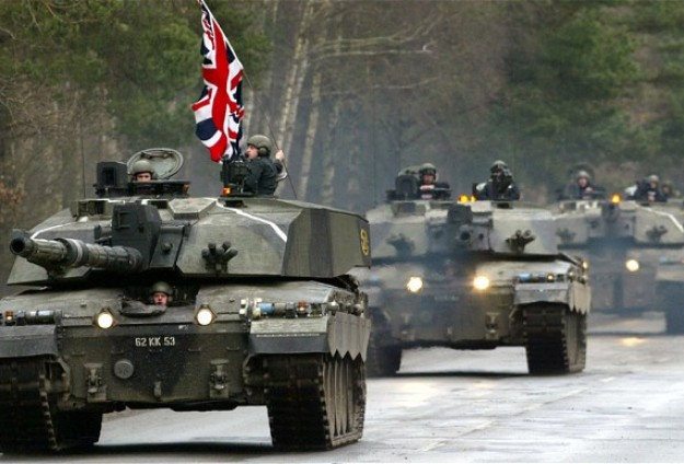 UK troops in largest deployment in E.Europe for six years