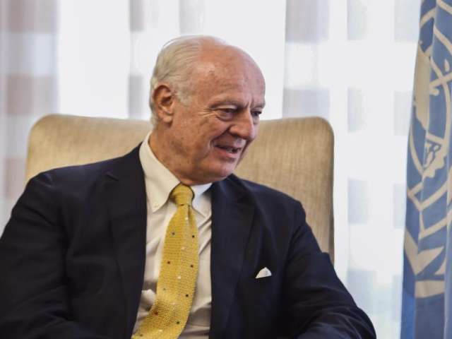 UN Syria envoy to discuss Syrian crisis in Iran