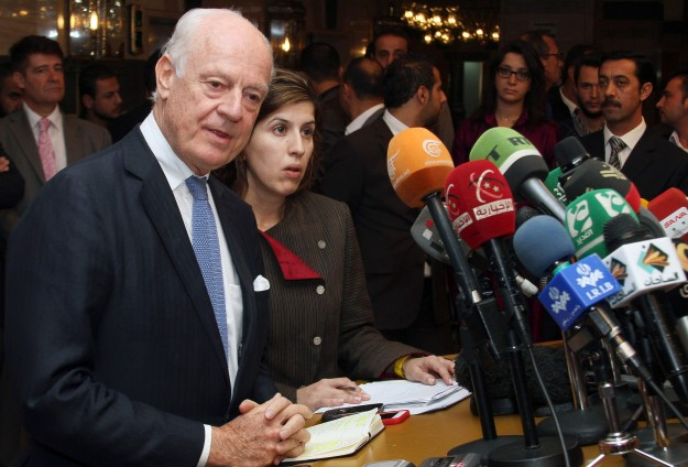 New UN Syrian envoy hopes to succeed where others failed