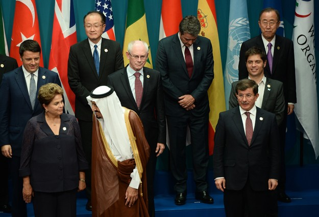 Climate change infiltrates G20 summit in Australia