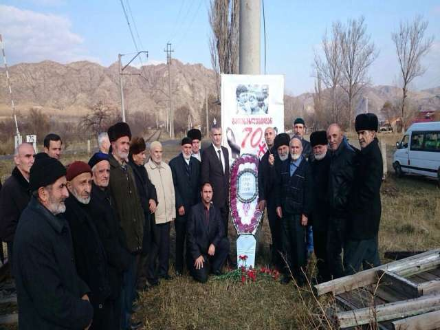 The first memorial in Georgia for Meskhetian Turks after 70 years
