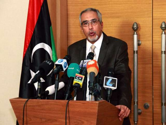 Struggle over Libya's oil risks breaking up country -rival PM