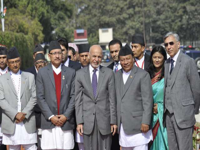 Nepal PM urges integration at South Asia leaders summit