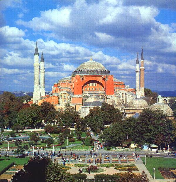 Hagia Sophia: The Initial Meridian of the Ottomans