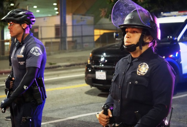 More than 150 arrested in California during police killing protests