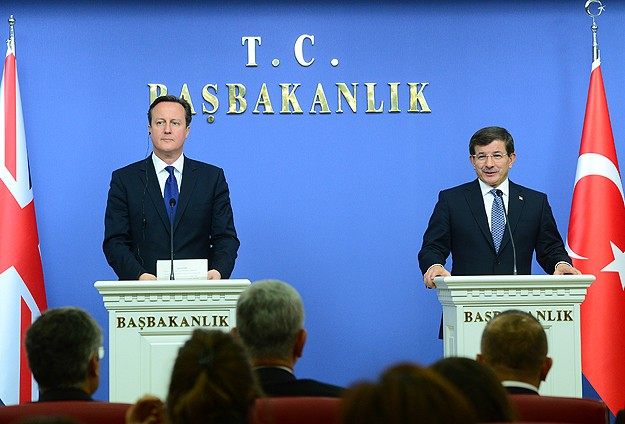 Turkey, UK agree to block flow of foreign fighters