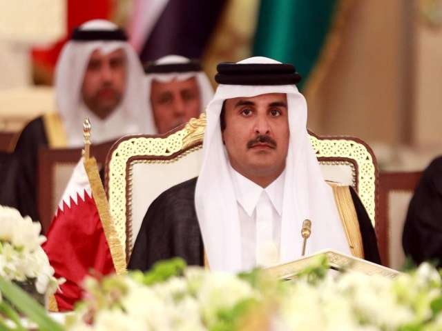 Blockade states not ready for solution: Qatar emir
