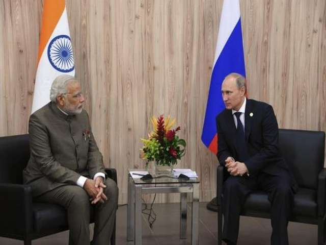 Modi to Putin: Russia to stay India's top defence partner