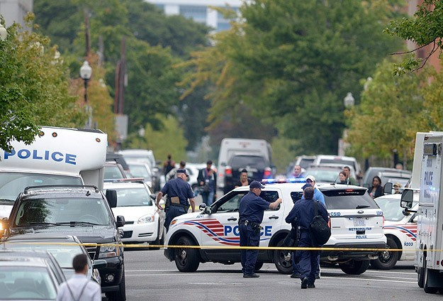 Two US police officers shot dead in line of duty