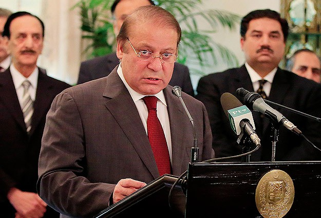 Pakistan PM: Special courts to try Taliban militants