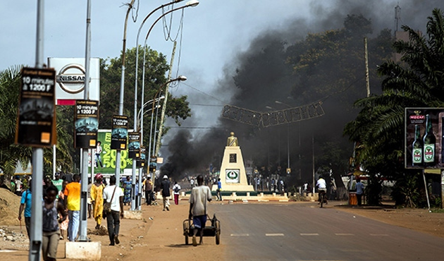 500 Muslims abandoned in Central African town