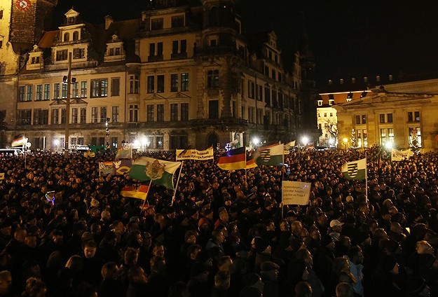 Increasing racist groups in Germany causing tension