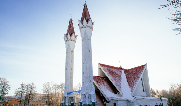 Siberia: A Mosque in the land of snow