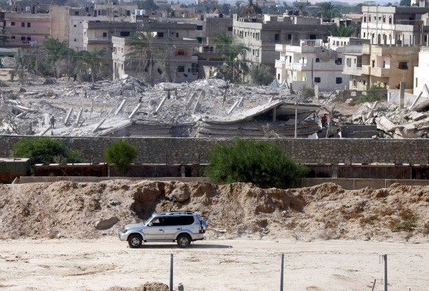Egypt to expand buffer zone on border with Gaza