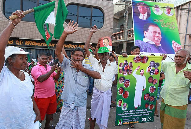 Indian spy's role alleged in Sri Lankan president's election defeat